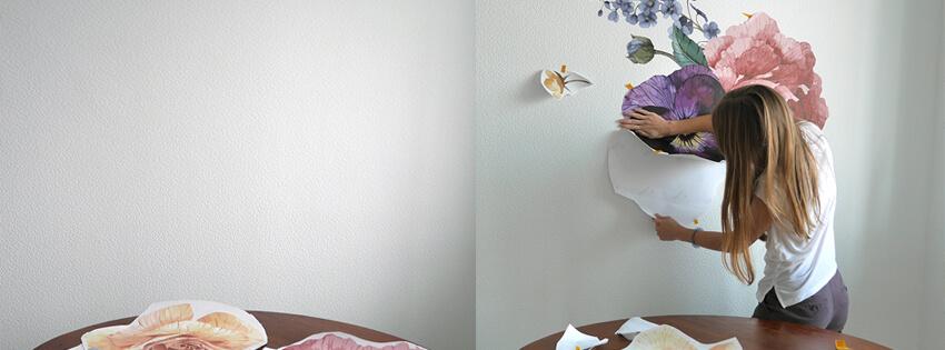 Как клеить наклейку на стену. Подробная инструкция