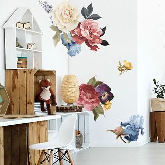 Наклейки Цветы