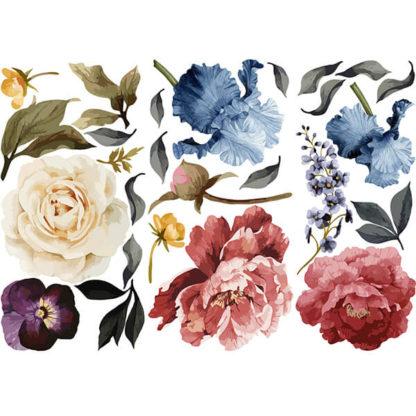 Наклейки на стену Цветы состав