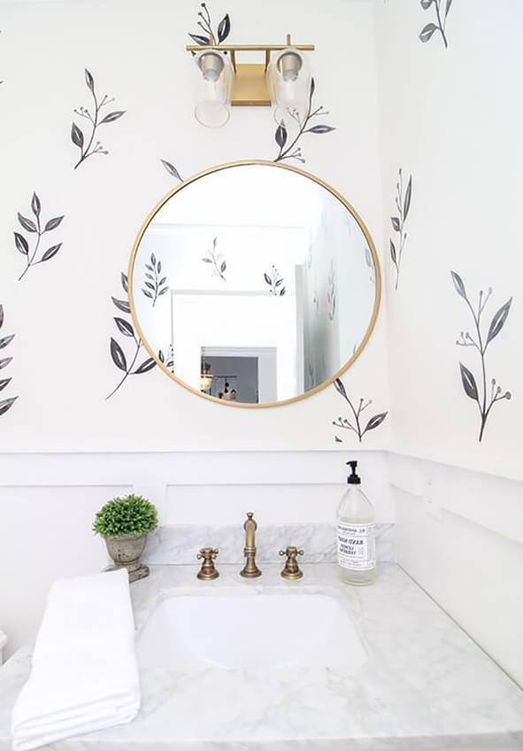Наклейки на стену ванная