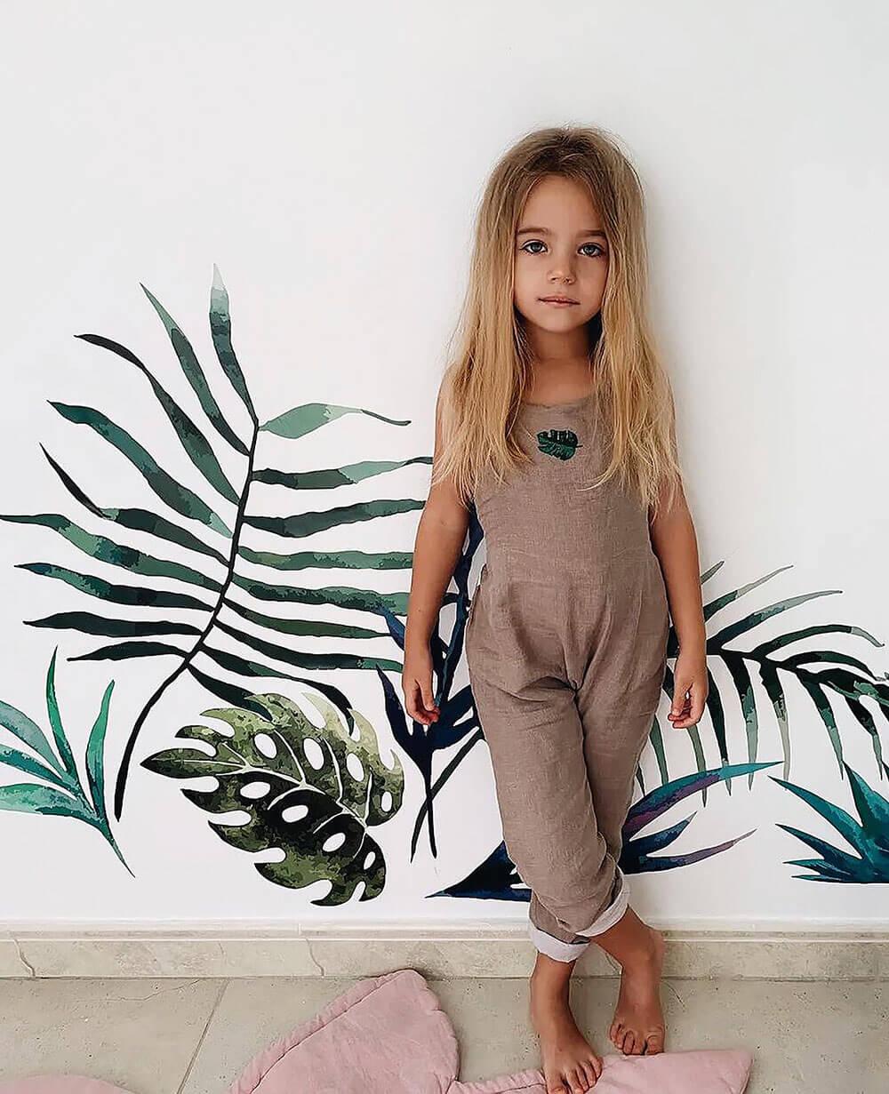 Детская для девочки в натуральных красках