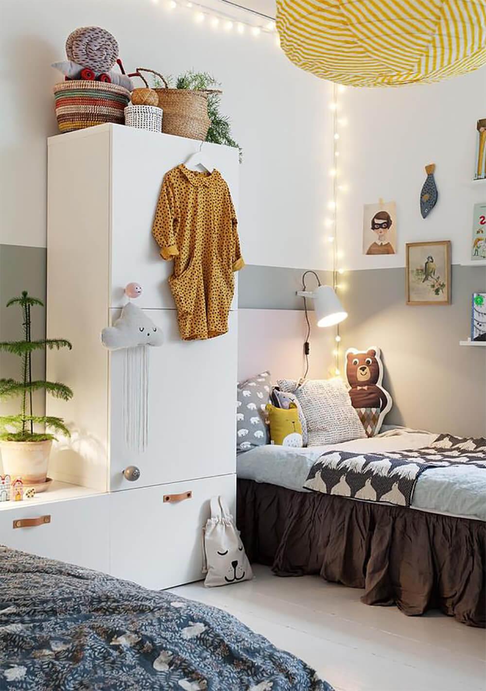 Как оформить стены детской в скандинавском стиле