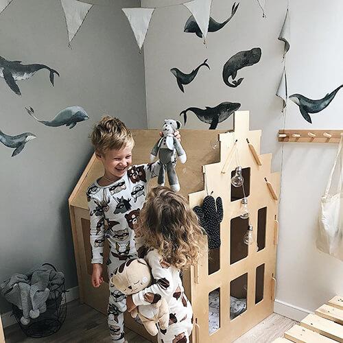 Наклейки для декора стен