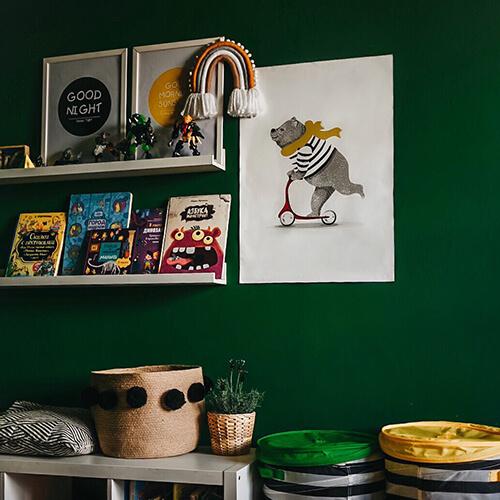 Постеры на стену детской