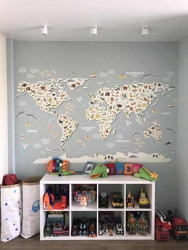 отзыв о большой карте мира на стену_5
