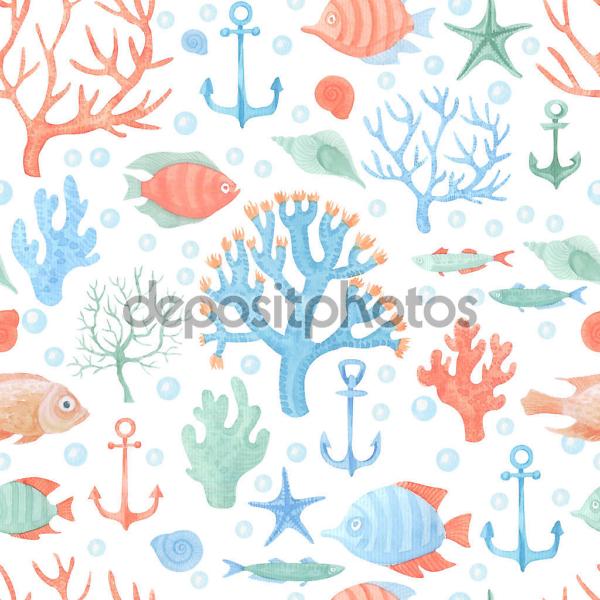Наклейка Подводный мир
