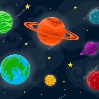 Наклейка Планеты
