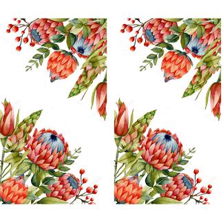 Стикеры цветы на стену или мебель  - фото 2