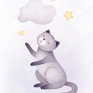 Кошка и облако — 2