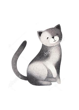 Постер Кот — 3  - фото