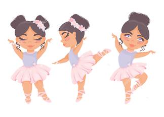 Постер Милые танцовщицы  - фото