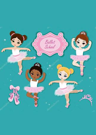 Постер Милые балерины  - фото