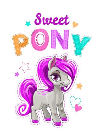 Постер Милый пони  - фото