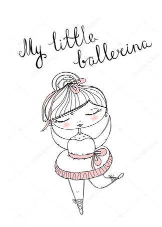 Постер Маленькая балерина  - фото