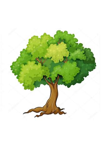 Постер Дерево летнее-2  - фото