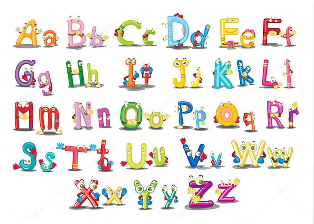 Постер Веселые буквы  - фото