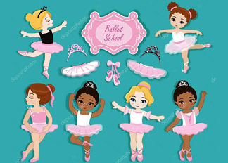 Постер Девочки балерины  - фото