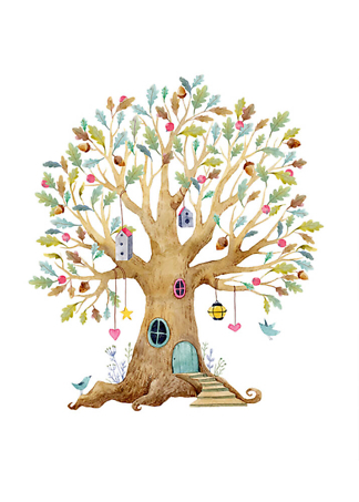 Постер Дерево-домик-2  - фото