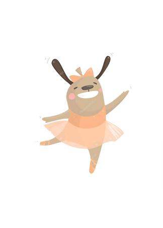 Постер Собака-балерина  - фото