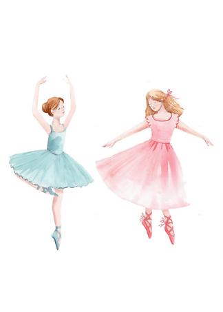 Постер Две балерины  - фото