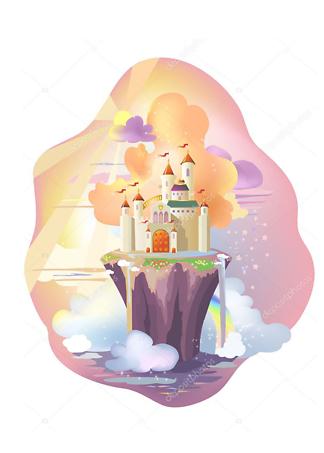 Постер Сказочный замок  - фото
