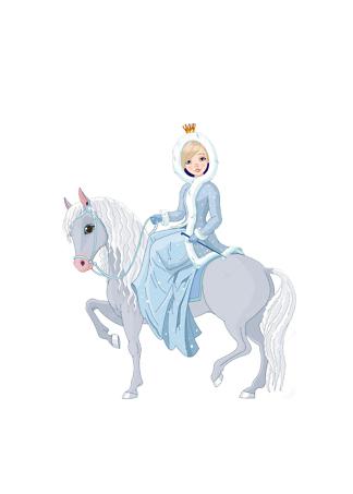 Постер Зимняя принцесса  - фото