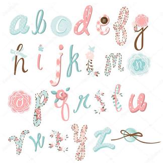 Постер Алфавит рукодельницы