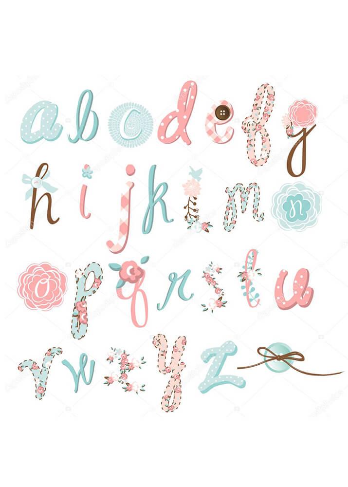 Постер Алфавит рукодельницы  - фото