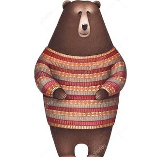 Медведь с медом