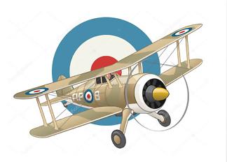 Постер Британский истребитель  - фото