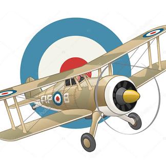 Постер Британский истребитель