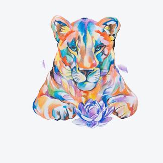Лев яркий