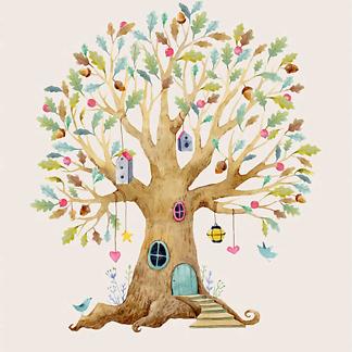 Дерево-домик-1