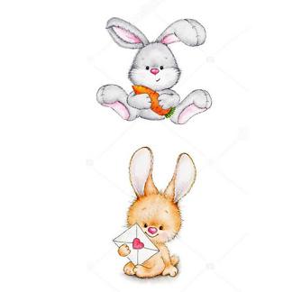 Детские иллюстрации зайцы -1