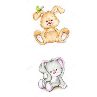 Постер Детские иллюстрации зайцы -2