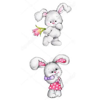 Заяц и снегопад
