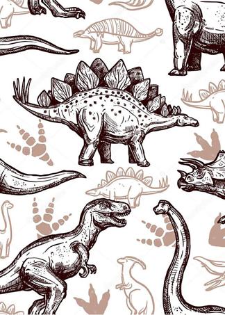 Постер Динозавры  - фото