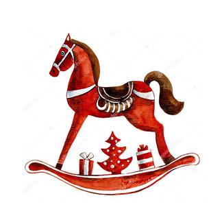 Игрушка-лошадь