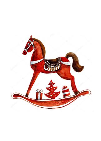 Постер Игрушка-лошадь  - фото