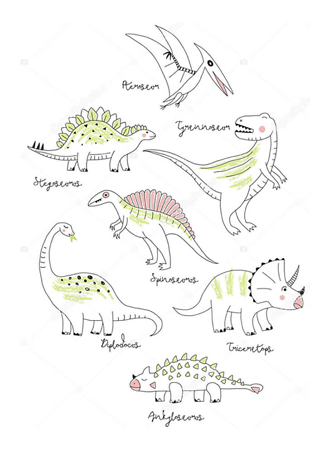 Постер Компания динозавров  - фото