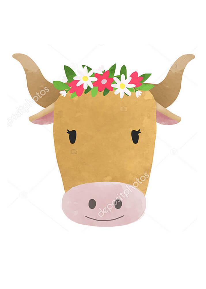 Постер Корова и бык  - фото 2