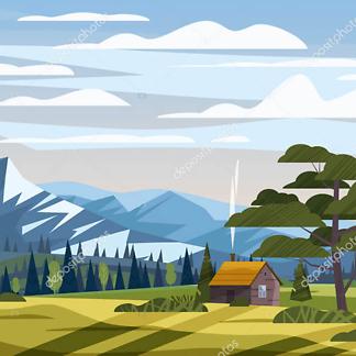 Летний пейзаж
