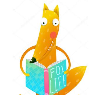 Постер Лиса читает Fox life
