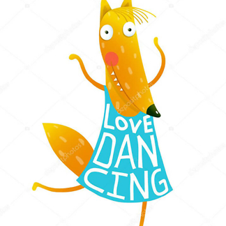 Постер Лиса танцовщица