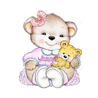 Два влюбленных медведя Тедди