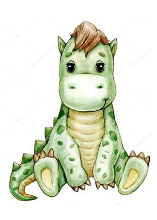 Постер Милый динозавр  - фото