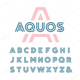 Постер Минималистичный алфавит