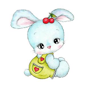 Мультяшный кролик