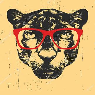 Панетра в очках