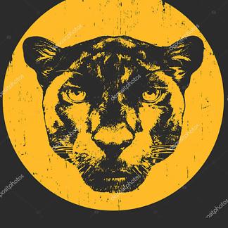 Пантера в круге